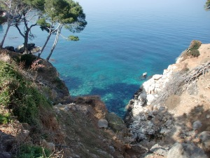 Mallorca Fincas in der Umgebung des Tramuntana-Gebirges, Deia und Valldemossa - Das Gebirge eignet sich für kurze und längere Wandertouren.