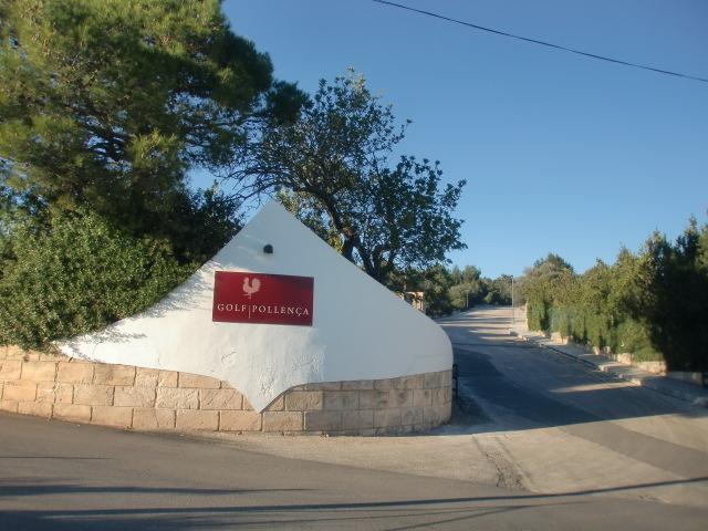 Pollenca -  Port de Pollenca - Cala Sant Vicenc - Die Nähe zum Golfplatz - Golf Pollensa - ist bei Urlaubern sehr beliebt.