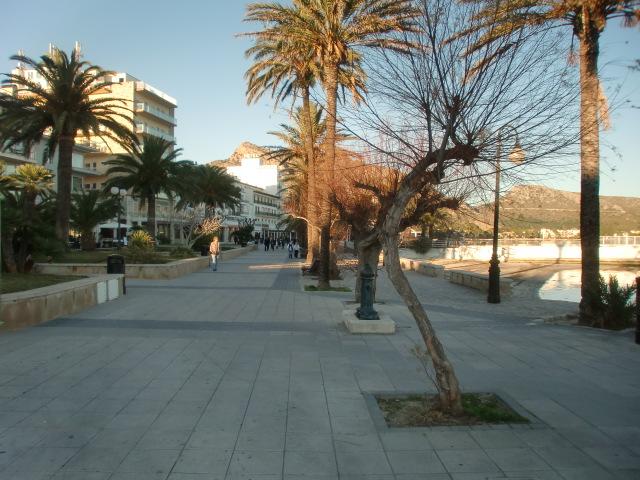 Pollenca -  Port de Pollenca - Cala Sant Vicenc - Die Promenade von Port de Pollenca