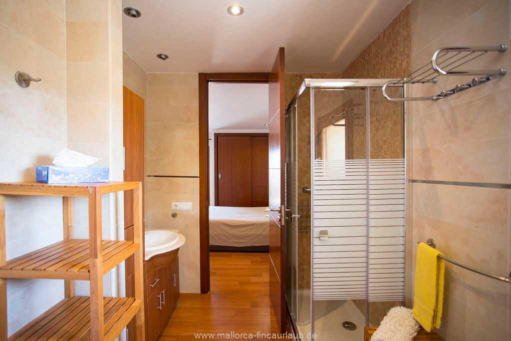 Bad en suite mit Dusche/WC